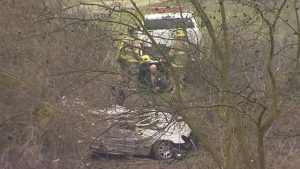 Police Chase Ends With Fatality After 100 mph, 330-foot Jump Over River