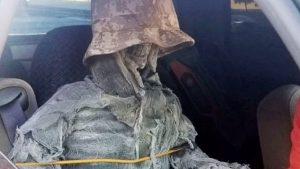 Man Gets Citation For Disguising Fake Skeleton To Drive In HOV Lane