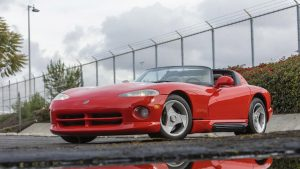 Lee Iacocca's Dodge Viper, Vin 001, Heads To Auction