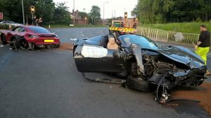 Millionaire Supercar Dealer Loses License After Street Racing Wreck