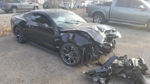 Customer's Ford Mustang GT Wrecked By Dealer During Test Drive After Supercharger Installation