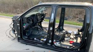 Stolen Silverado Found Completely Stripped, Abandoned On Road As Trucks Are Latest Target For Thieves