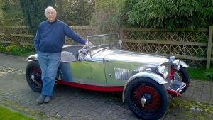 Classic '34 Riley Sports Car Restored After Being Burned In Barn Fire