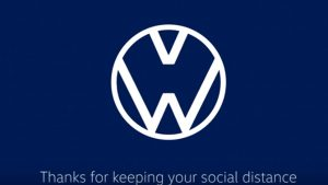 VW, Audi Update Logos To Help Encourage Social Distancing