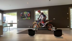 Stunts In The Living Room? Even Motorcycle Champs Are Working From Home