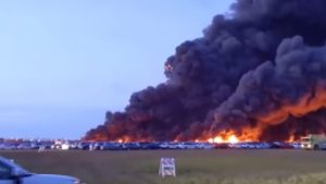 Thousands Of Rental Cars Destroyed In Florida Airport Fire