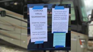 HOA Strikes Again: Florida HOA Demands Nurse Removes Her Quarantine RV