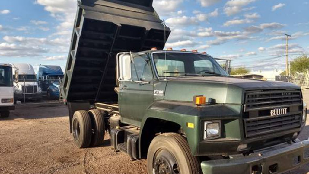 There's A Bullitt Mustang Ford Dump Truck For Sale And It ...
