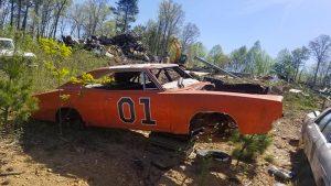 General Lee Jump Cars Found Rotting Away In Georgia Junkyard