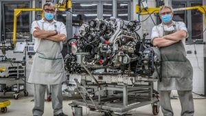 Bentley's Produced The Final 6.75-liter V8 After 61-Year Run