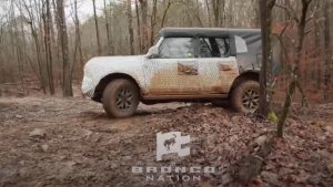Check Out The New Off-Road Tech On The 2021 Bronco During Mud Test
