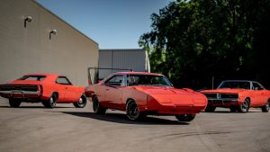 A Matching Trio Of 1969 Dodge Chargers Is Up for Sale, But There's A Catch