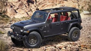 Jeep Shows Off V8-Powered Wrangler Concept