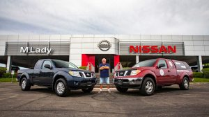 Nissan Frontier Pickup Driver With Over 1 million Miles Gets New Truck