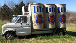 You Can Now Own Your Very Own Vintage Miller Lite Beer Delivery Truck