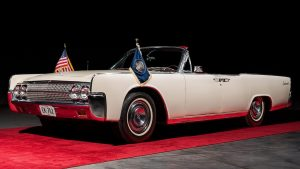 A Lincoln Continental JFK Rode In The Day He Was Assassinated Is Up For Auction