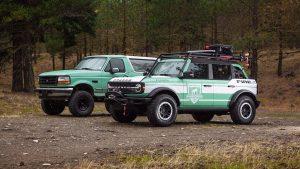 Ford, Filson Donating 2 Custom Bronco Firetrucks To Help Wildland Firefighters