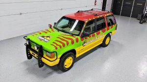 Add The Jurassic Park Ford Explorer To Your Garage!