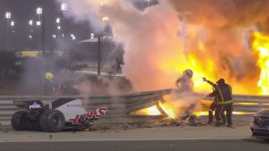 F1 Driver Credits Halo In Saving His Life After Walking Away From Fiery Crash