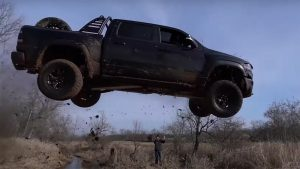 Ram TRX Has Enough Horsepower to Fly – Literally