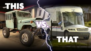 Is Carcass' DJ5 Mail Jeep Better Than USPS' New Mail Truck?