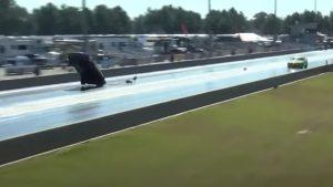 Camaro Driver Sticks Amazing Landing After Going Airborne