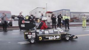 New World Record Broken By Edible Car