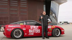 Driving 200 MPH Is Terrifying – Imagine Doing it As a Blind Man