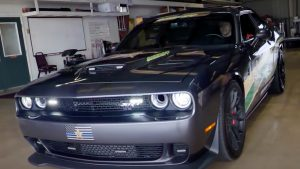 Challenger SRT Hellcat Seized From Drug Dealer Converted Into Police Car