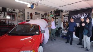 Surprise! Brothers Restore Dad's '87 Honda Civic Si Into His First Race Car