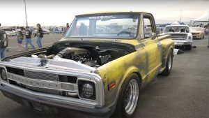 This Twin-Turbo V8 Patina C10 at Holley LS Fest Is Something Else