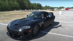 Son Crushes Quarter-Mile Record in Dad's 3,200 Horsepower Viper