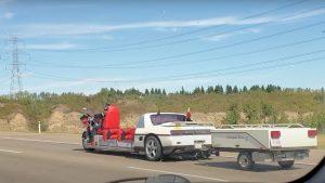 It's A Motorcycle, No, It's a Pontiac Fiero, No, It's A What? (Video)